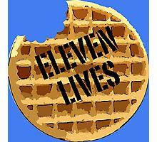 Eleven Lives - Stranger Things Fan Art Photographic Print