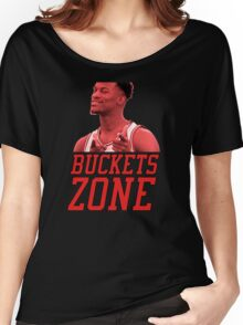 Buckets Zone - Bulls Women's Relaxed Fit T-Shirt