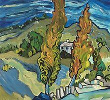 My impression of Van Gogh by careball