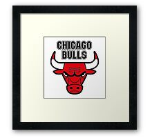 chicago bulls NBA club Framed Print