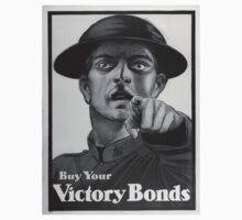 Vintage poster - Victory Bonds Kids Tee