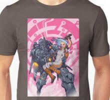 Robot and girl Unisex T-Shirt