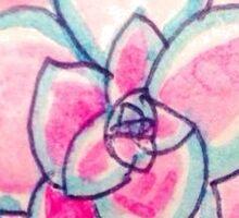 Watercolour Mandala Sticker
