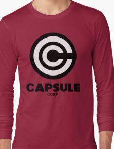 capsule corp black logo Long Sleeve T-Shirt