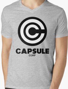 capsule corp black logo Mens V-Neck T-Shirt
