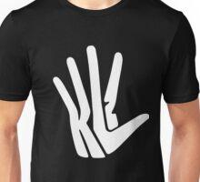 Hand Logo White Unisex T-Shirt