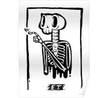 E.T. Bones Poster