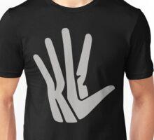Hand Logo Gray Unisex T-Shirt