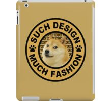 doge (such design much fashion) iPad Case/Skin
