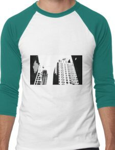New York Skyscrapers Men's Baseball ¾ T-Shirt