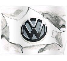 VW tear up Poster