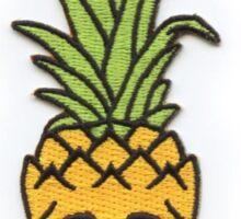 Pineapple Skull - Skateboarding. Sticker