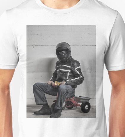 Ironic Biker Unisex T-Shirt