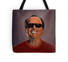 Jack Nicholson 2 Painting Tote Bag