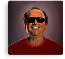 Jack Nicholson 2 Painting Canvas Print
