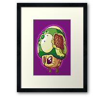 Zed Up Framed Print