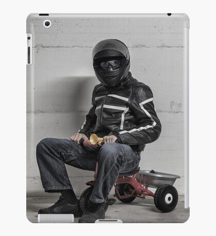 Ironic Biker iPad Case/Skin