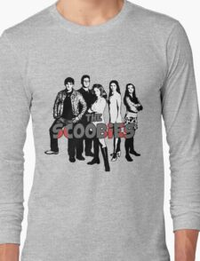 BTVS CAST (S1): The Scoobies! Long Sleeve T-Shirt