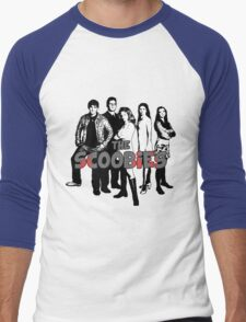 BTVS CAST (S1): The Scoobies! Men's Baseball ¾ T-Shirt