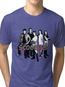 BTVS CAST (S1): The Scoobies! Tri-blend T-Shirt
