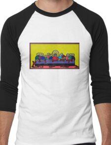 The Last (Lobster) Supper Men's Baseball ¾ T-Shirt