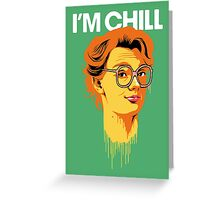Chill Barb Greeting Card