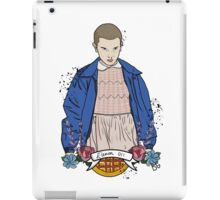 Stranger Things Eleven floral  iPad Case/Skin