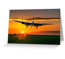Dawn Return Greeting Card