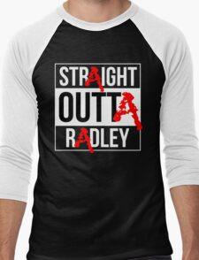 Straight Outta Radley Men's Baseball ¾ T-Shirt