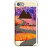 Abstract,water color,hand painted,landscape,mixed media iPhone Case/Skin