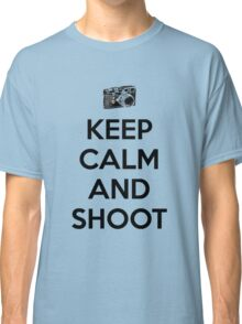 Keep calm and shoot Classic T-Shirt