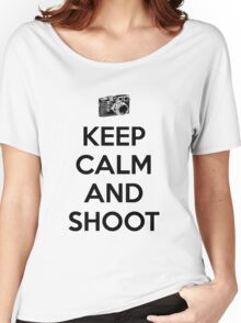 Keep calm and shoot Women's Relaxed Fit T-Shirt