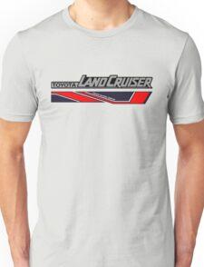 Land Cruiser body art series, red two piece. Unisex T-Shirt