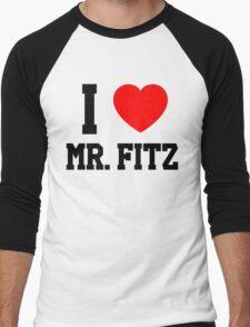 I Love Mr. Fitz Men's Baseball ¾ T-Shirt