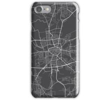 Dortmund Map, Germany - Gray iPhone Case/Skin