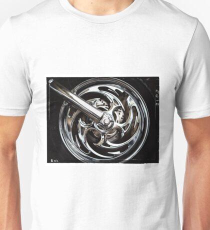 Harley Wheel Unisex T-Shirt