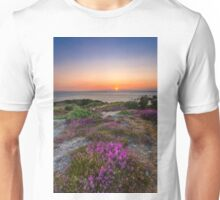 Purple Heather Sunset Unisex T-Shirt