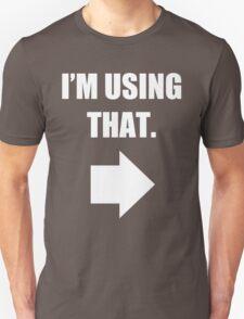 Using That Unisex T-Shirt