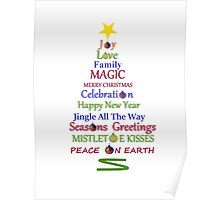 Holiday Tree Poster