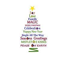 Holiday Tree Photographic Print