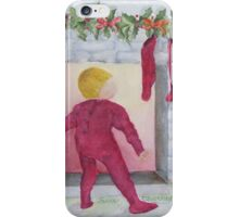 LOOKING FOR SANTA iPhone Case/Skin