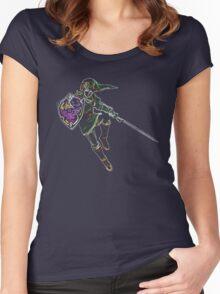 Link Neon Women's Fitted Scoop T-Shirt