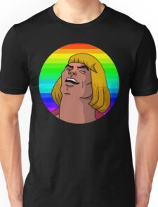 Rainbow He-Man Unisex T-Shirt