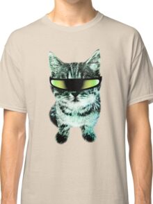 Beach Cat is ready to make waves (Guys) Classic T-Shirt