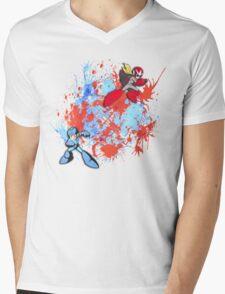 Mega & Proto Mens V-Neck T-Shirt