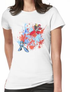 Mega & Proto Womens Fitted T-Shirt
