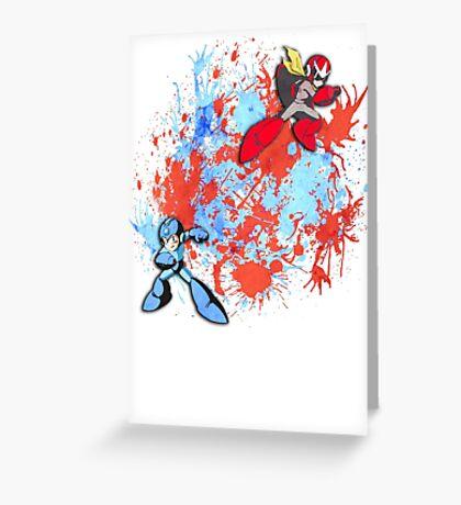 Mega & Proto Greeting Card