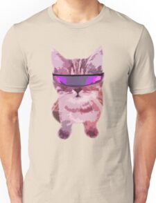 Beach Cat is ready to make waves (Girly) Unisex T-Shirt