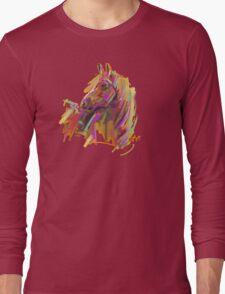 Cool T shirt  Horse  true colors Long Sleeve T-Shirt