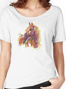 Cool T shirt  Horse  true colors Women's Relaxed Fit T-Shirt